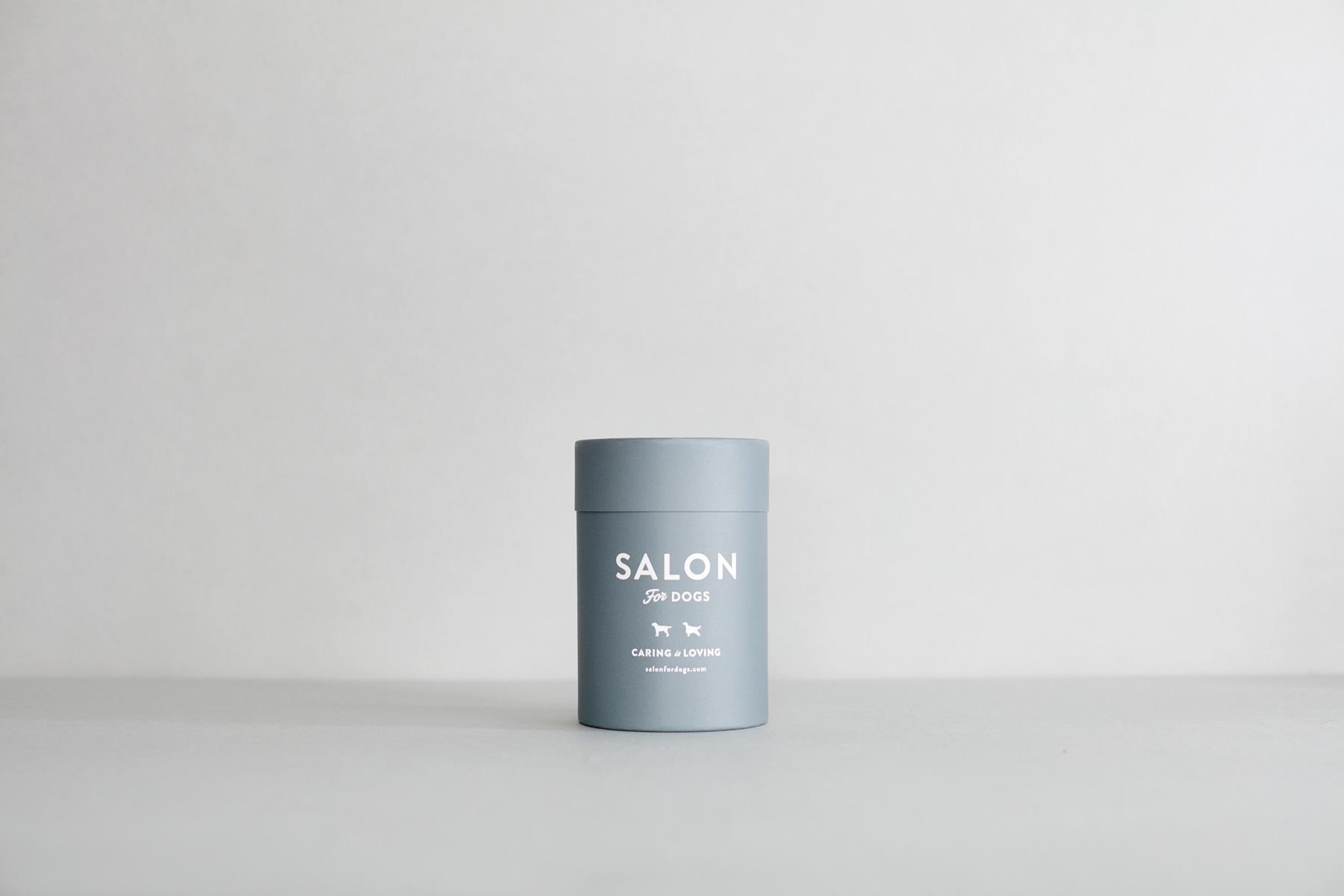 画像1: 【SALON FOR DOGS】 優しいタオル  円筒ケース付き (1)
